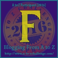 A to Z Challenge:  F is for FIGHT